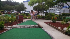 Mini-golf!  Good times.